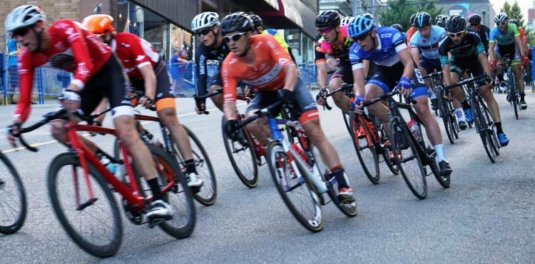 If you are racing, you need a tight-fitting cycling jersey that does not flap in the wind