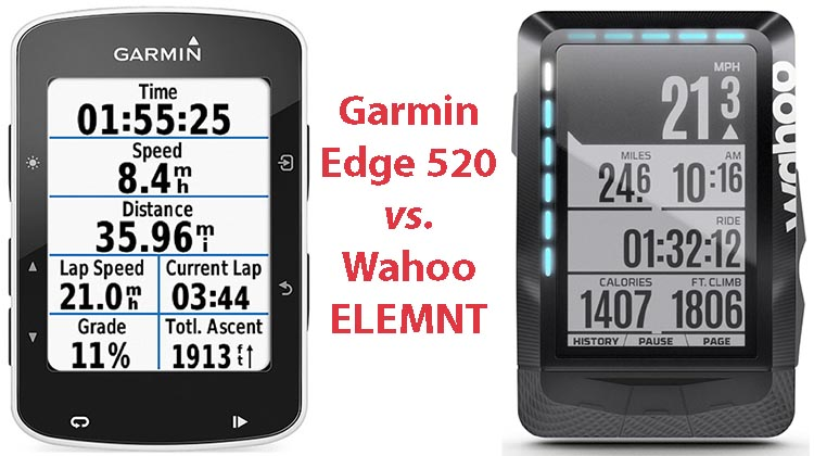 Garmin Edge 520 vs Wahoo Elemnt. Both the Wahoo ELEMNT and the Garmin Edge 520 are premium bike computers that offer an impressive range of features. So, which one is better for you?