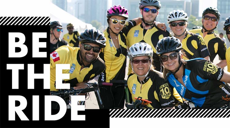 Find out more about the Ride to Conquer Cancer, including details of the ride in your province!