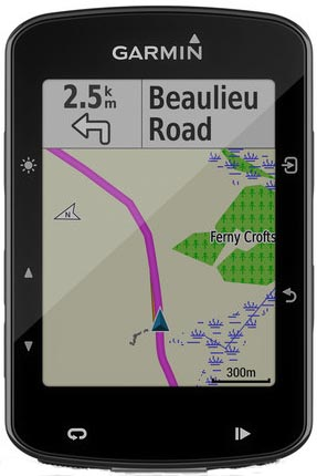 The Garmin Edge 520 Plus
