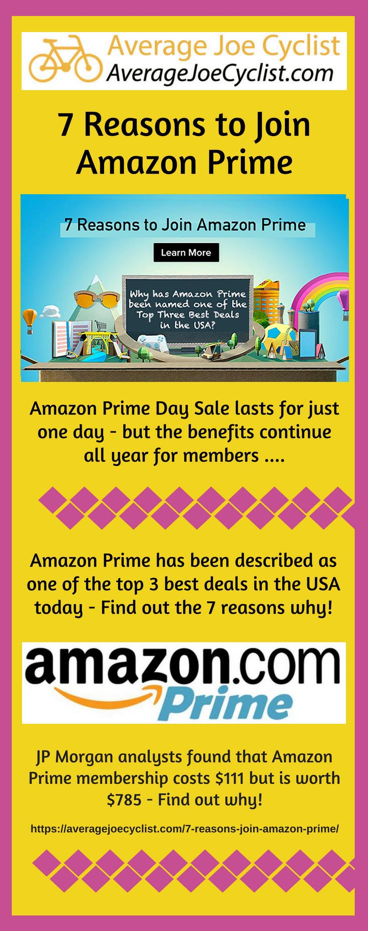 7 Reasons to join Amazon Prime