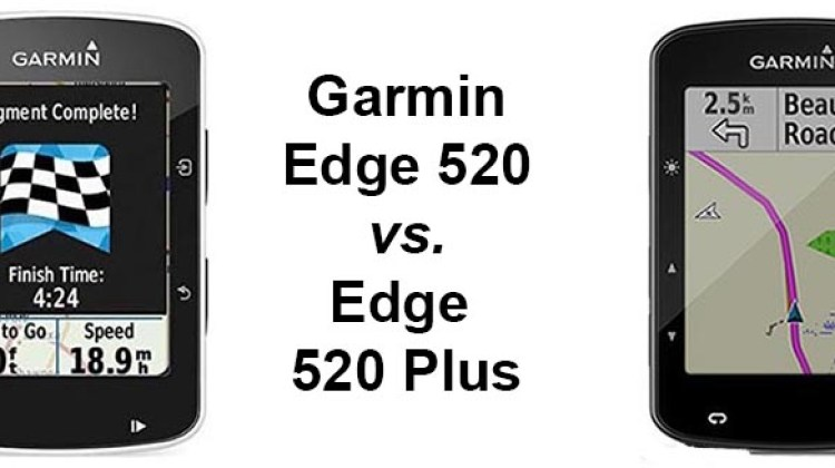 Garmin Edge 520 vs 520 Plus