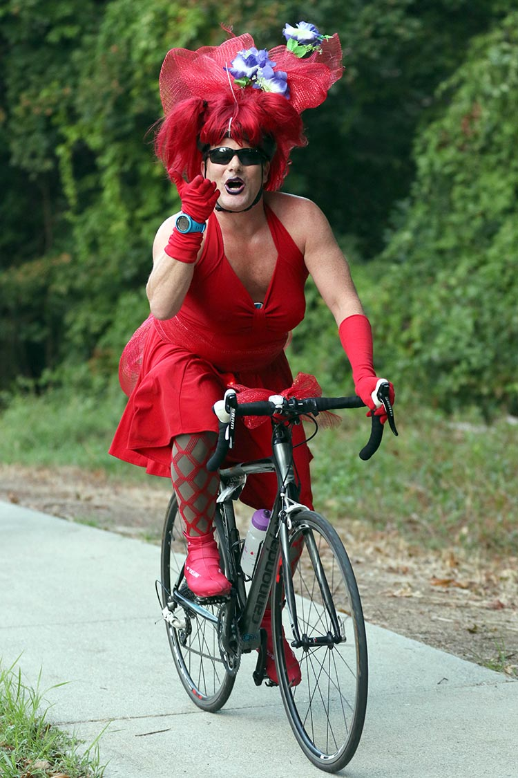 Lycra is NOT required to participate in Cycle for the Cause! Photo credit: Inspired Storytellers