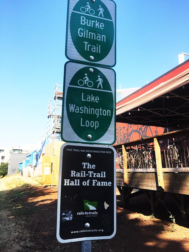 The Burke-Gilman Trail has been inducted into the Rail-Trail Hall of Fame!