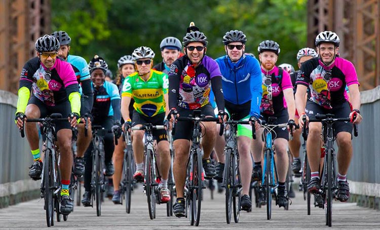 Cycle for the Cause bonds cyclists and builds great friendships and teamwork. Photograph by Inspired Storytellers. Cycle for the Cause 2018 and 2019