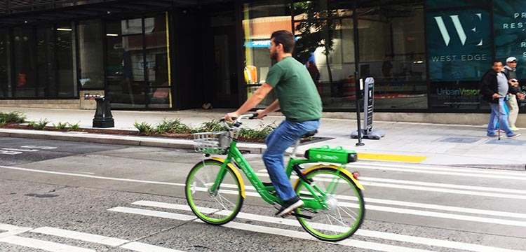 Lime Bikes and Scooters for Shared Transport Options. Seattle has good cycling infrastructure (by North American standards), so you can go just about anywhere on a Lime bike