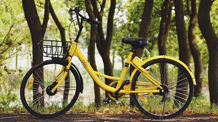 Hybrid bikes can be a lot easier on your knees than other kinds of bikes