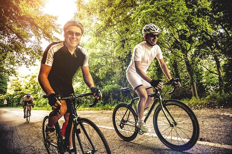Study shows stress busting impact of cycling. A recent survey by Cycleplan found that one in three cyclists noticed that cycling made them less stressed and more relaxed