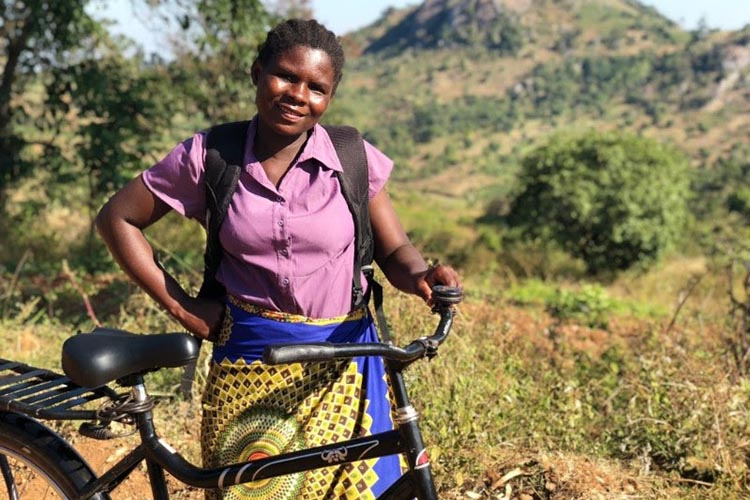 """""""These stories demonstrate the profound impact of bicycles on individuals, families and entire communities."""" Photo credit: World Bicycle Relief"""