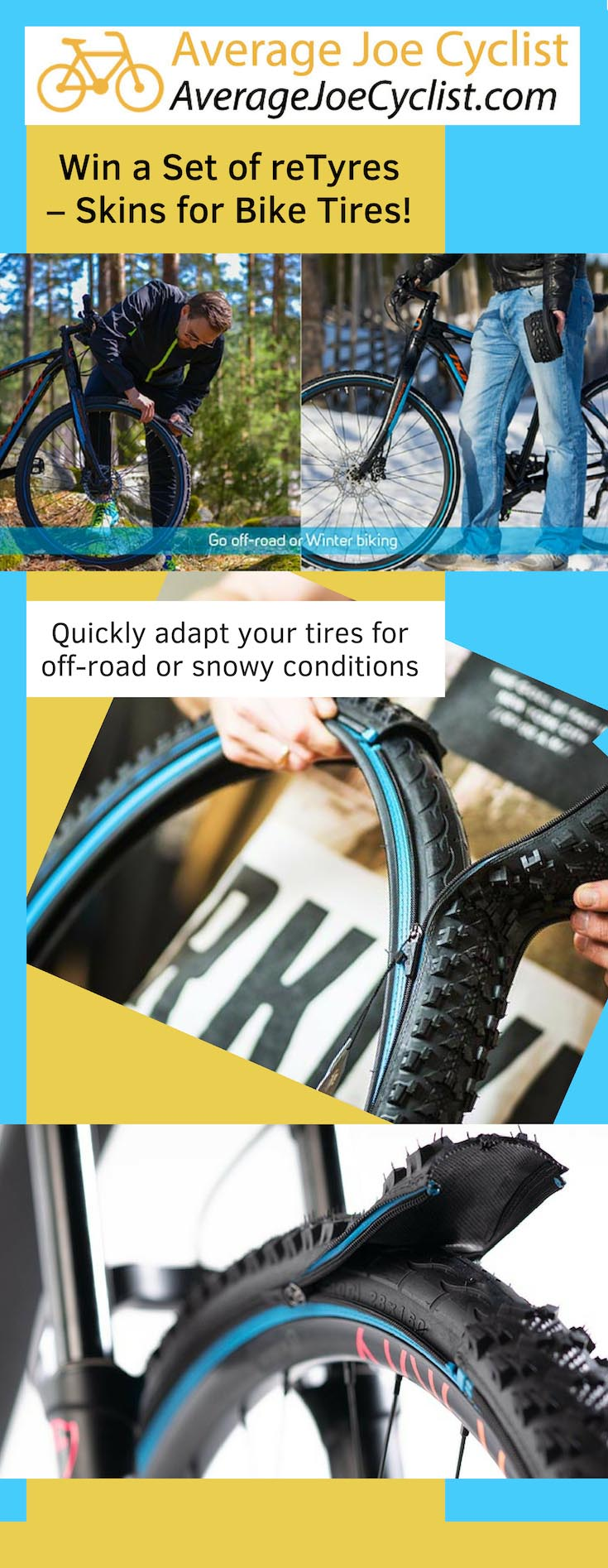 Win a Set of reTyres – Skins for Bike Tires!