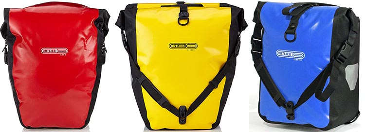 Best Waterproof Bike Panniers for Touring and Commuting - Ortlieb Bike Panniers