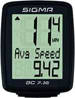 No. 7: SIGMA BC 7.16 Wired Bike Computer