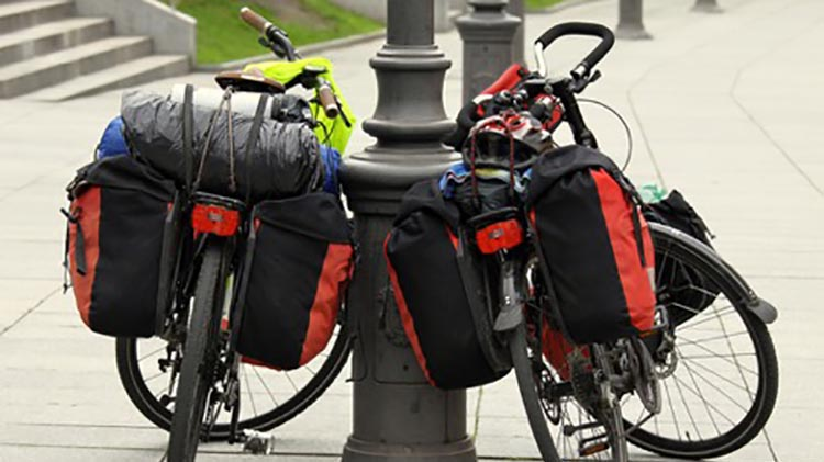 11 tips for traveling light on your long-distance cycling tour