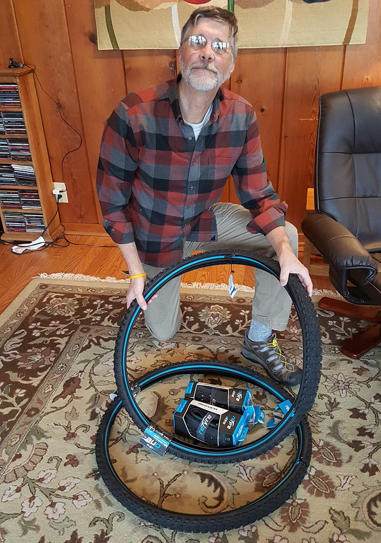 The winner of a set of reTyres is Kevin Crawley from Iowa City, Iowa