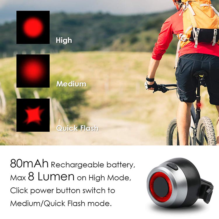 Vangogo Bike Light Set Review. For a free extra, this is a pretty nice little tail light