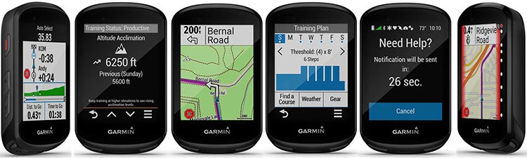 What are the new features of the Garmin Edge 830