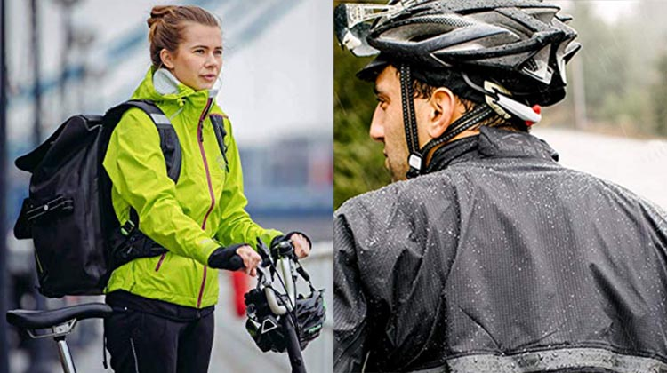 A great waterproof cycling jacket will keep you dry, and at the same time be breathable, so that you don't overheat your core