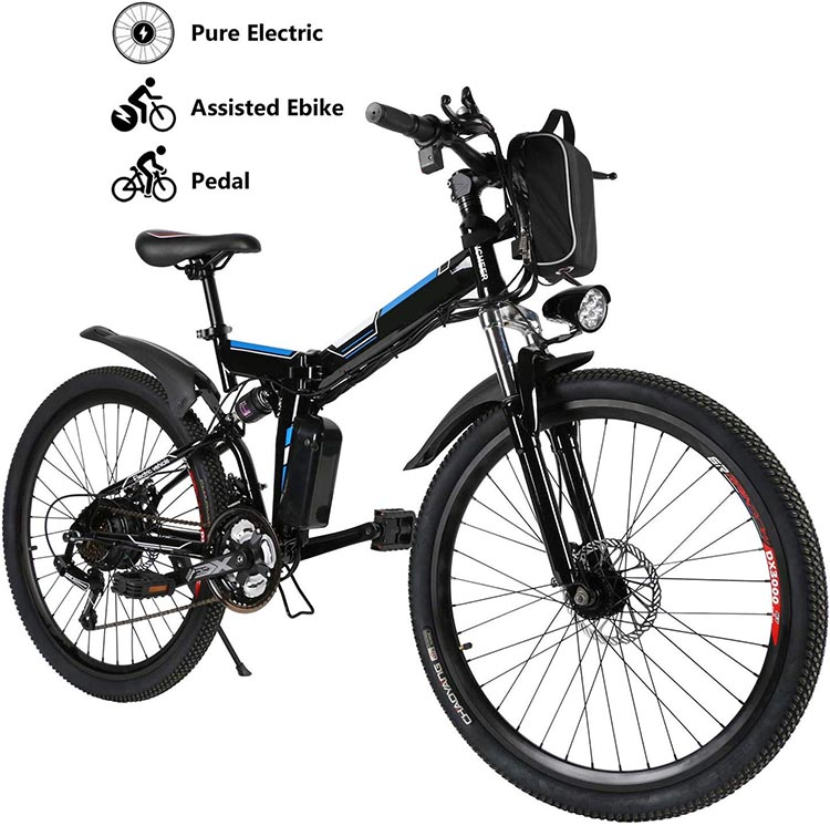 Best Cheap E-bikes. The Yiilove Ebike has various modes, so you can choose how much assistance you want, based on the terrain