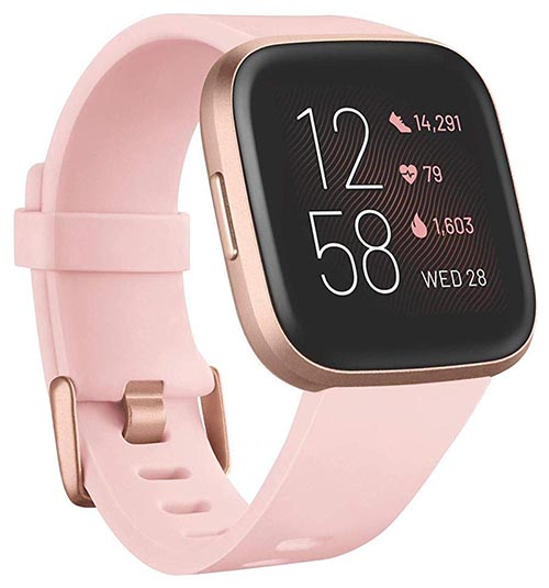 The price of the Fitbit Versa 2 is usually less than $200. Click here for the latest price on Amazon