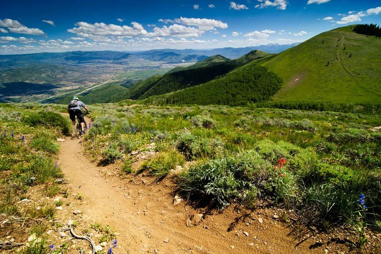 Round Valley Trail, Park City (UT). Photo by Mountain Biking Park City