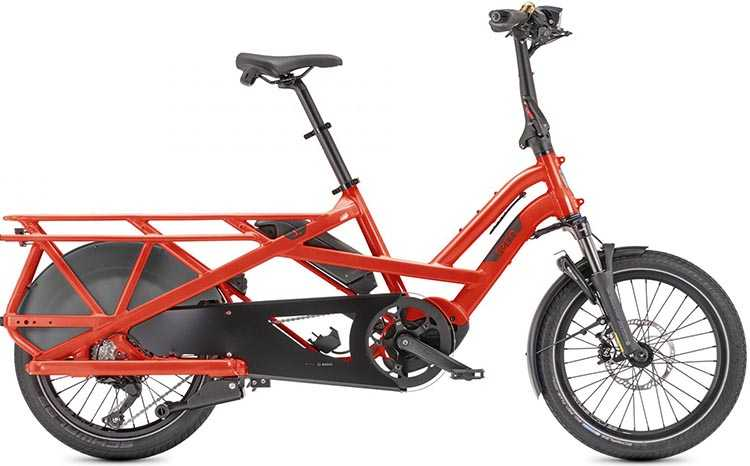 The ALPEN Capsule is compatible with all of Stile's flagship products, including the Tern GSD electric cargo bike