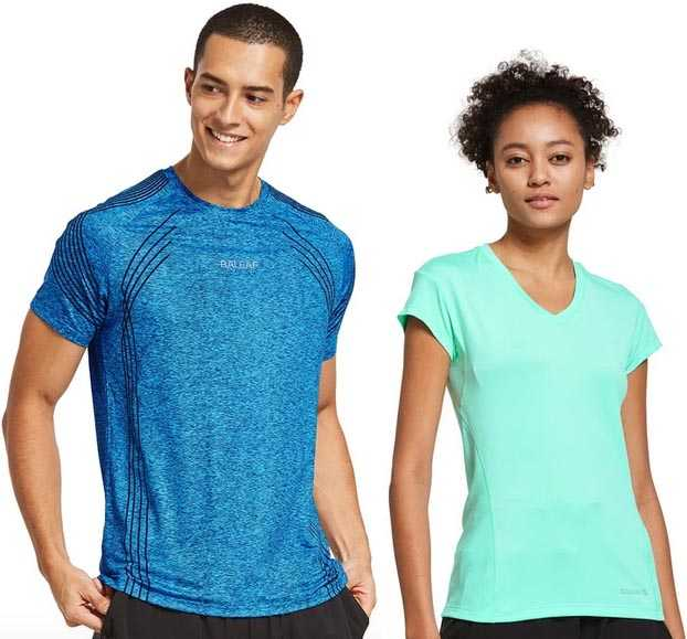 We tried these two tee shirts from Bayleaf Sports Gear, and were very pleased with both of them