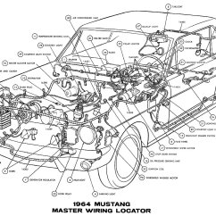 66 Ford Mustang Wiring Diagram Vs 1965 Under Hood Get Free Image