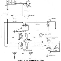 89 Mustang Alternator Wiring Diagram 2000 Jeep Cherokee Headlight Switch 64 Ranchero Library 1964 Diagrams Average Joe Restoration 77 Ford Ignition