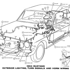 1964 Ford Ignition Switch Diagram Trailer Wiring Electric Brakes Mustang Diagrams - Average Joe Restoration