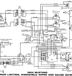 1964 mustang wiring diagrams average joe restoration1964 ford falcon wiring diagram instrument 10 [ 1500 x 950 Pixel ]