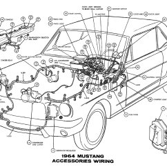 1965 Mustang Ignition Coil Wiring Diagram Tecumseh Compressor Courtesy Light Free Engine