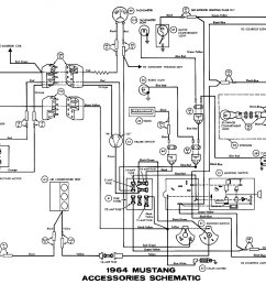 1964 ford ac wiring diagram [ 1500 x 1036 Pixel ]