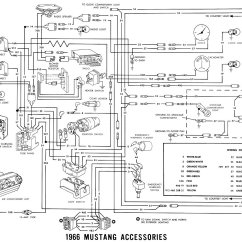 66 Mustang Ignition Wiring Diagram Reversing Circuit 1966 Diagrams Average Joe Restoration Accessories Schematic