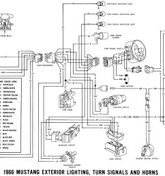 1966 mustang wiring diagrams average joe restoration rear turn signals and rear parking lights schematic diagram of 1967 1968 thunderbird [ 1500 x 944 Pixel ]