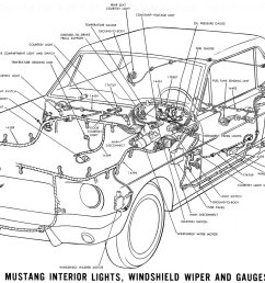 1966 mustang interior lights windshield wiper and gauges schematic [ 1500 x 985 Pixel ]