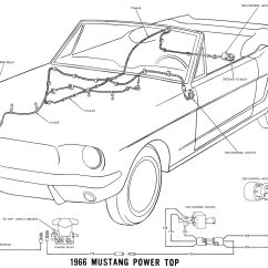 1965 Mustang Ignition Coil Wiring Diagram 6 Wire Trailer 1966 Diagrams Average Joe Restoration