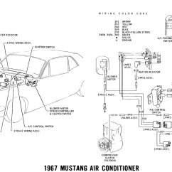 Wiring Diagram 220v Capacitor Start Motor Security Camera Installation 1967 Mustang And Vacuum Diagrams Average Joe Restoration Pictorial Schematic