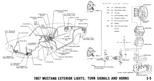 small resolution of pictorial and horn schematic or schematic headlamps