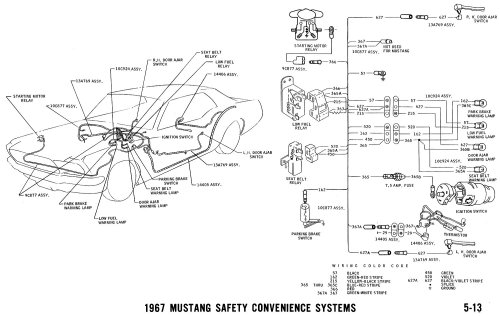 small resolution of 1967 mustang wiring and vacuum diagrams average joe restoration 67 mustang wiring schematic