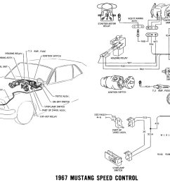 1967 mustang speed control pictorial and schematic vacuum diagram [ 1500 x 1003 Pixel ]