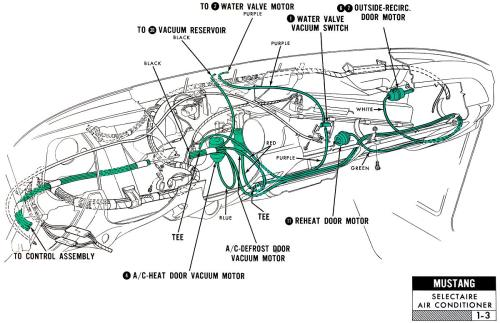 small resolution of 1967 mustang wiring and vacuum diagrams