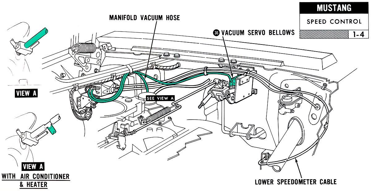 Vacuum Diagram For 1965 Ford Thunderbird