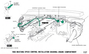 1968 Mustang Wiring Diagrams and Vacuum Schematics