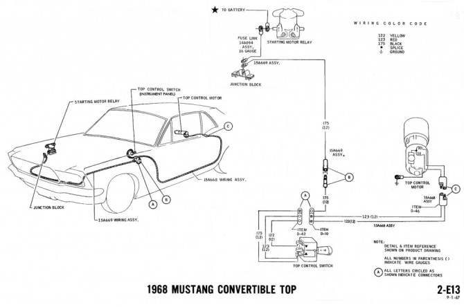 1968 mustang engine diagram  three way wiring diagram for