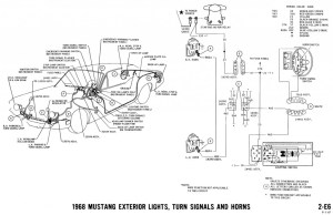 1968 Mustang Wiring Diagrams and Vacuum Schematics  Average Joe Restoration