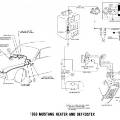 Pir Sensor Wiring Diagram Boat Single Battery Switch 1968 Mustang Headlight Auto Electrical 1970 Diagrams And Vacuum Schematics
