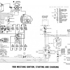 1964 Chevrolet C10 Wiring Diagram Jcb Js130 1968 Mustang Diagrams And Vacuum Schematics - Average Joe Restoration