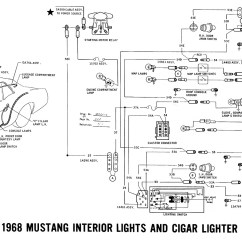 66 Mustang Ignition Wiring Diagram 2005 Ford Escape Pcm Under Dash Color Code Free Engine