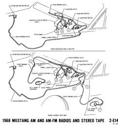 1968 mustang wiring diagrams and vacuum schematics average joe 1968 ford mustang ignition wiring [ 964 x 1000 Pixel ]