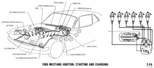 Mustang Wiring and Vacuum Diagrams Archives  Average Joe